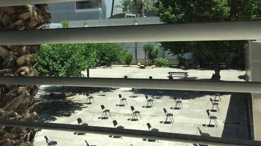 Schulhof der Deutschen Schule Valencia